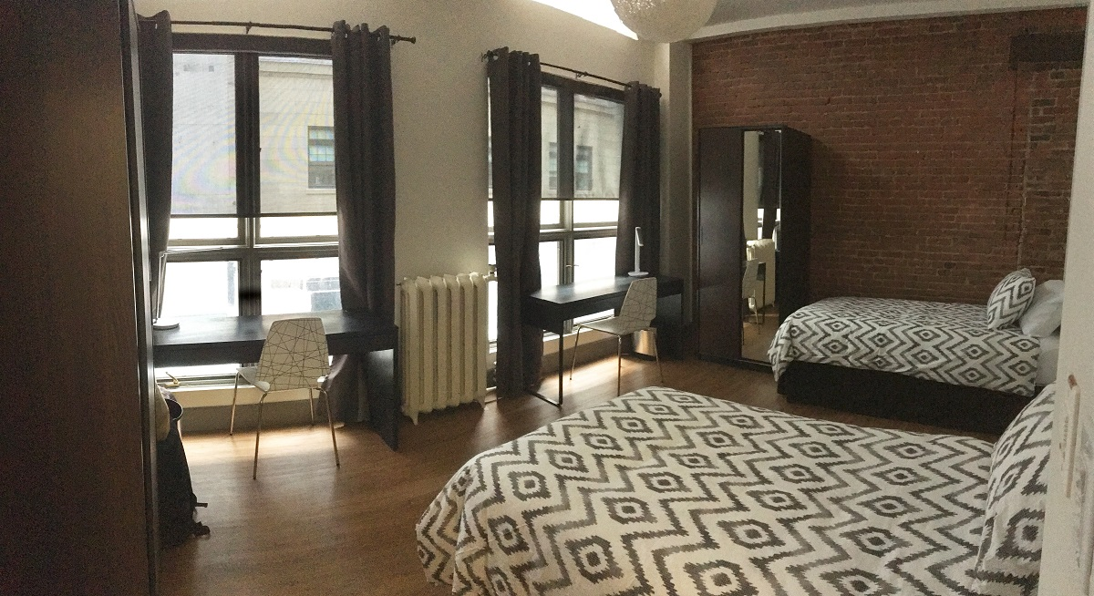 LT Double Room - Two Occupants - Bed A